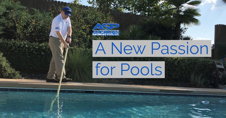 Brandon Grigsby, owner of ASP pool company in Port St. Lucie, Florida