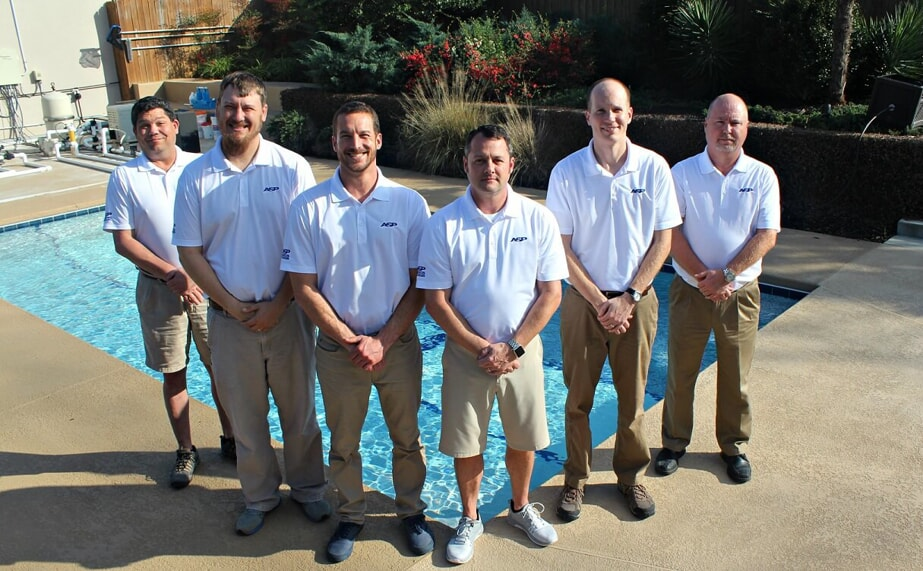America's Swimming Pool Company Franchise Owners at Pool School Training, February 2018