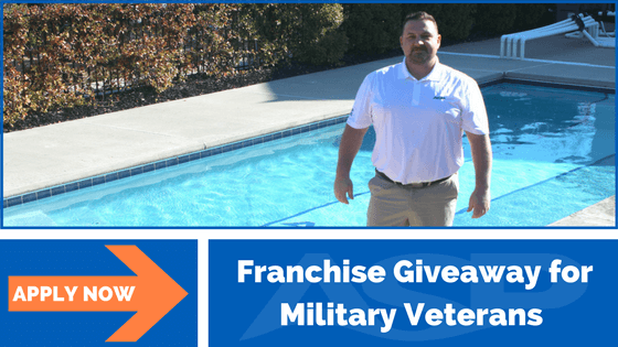 Franchise Giveaway for Military Veterans